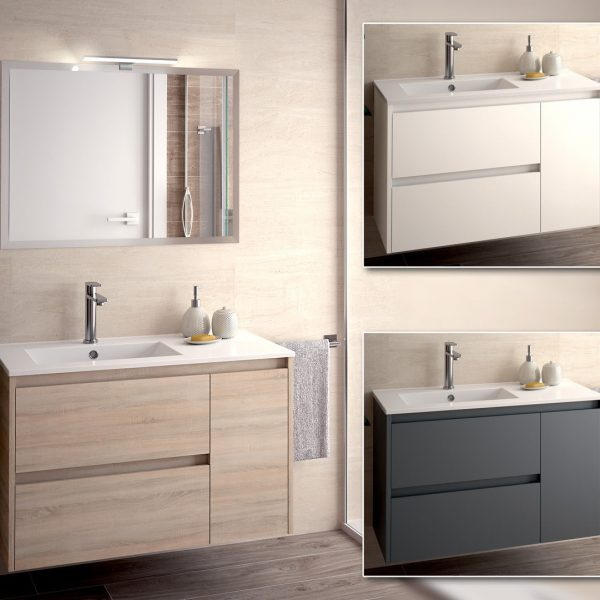Melamine bathroom furniture
