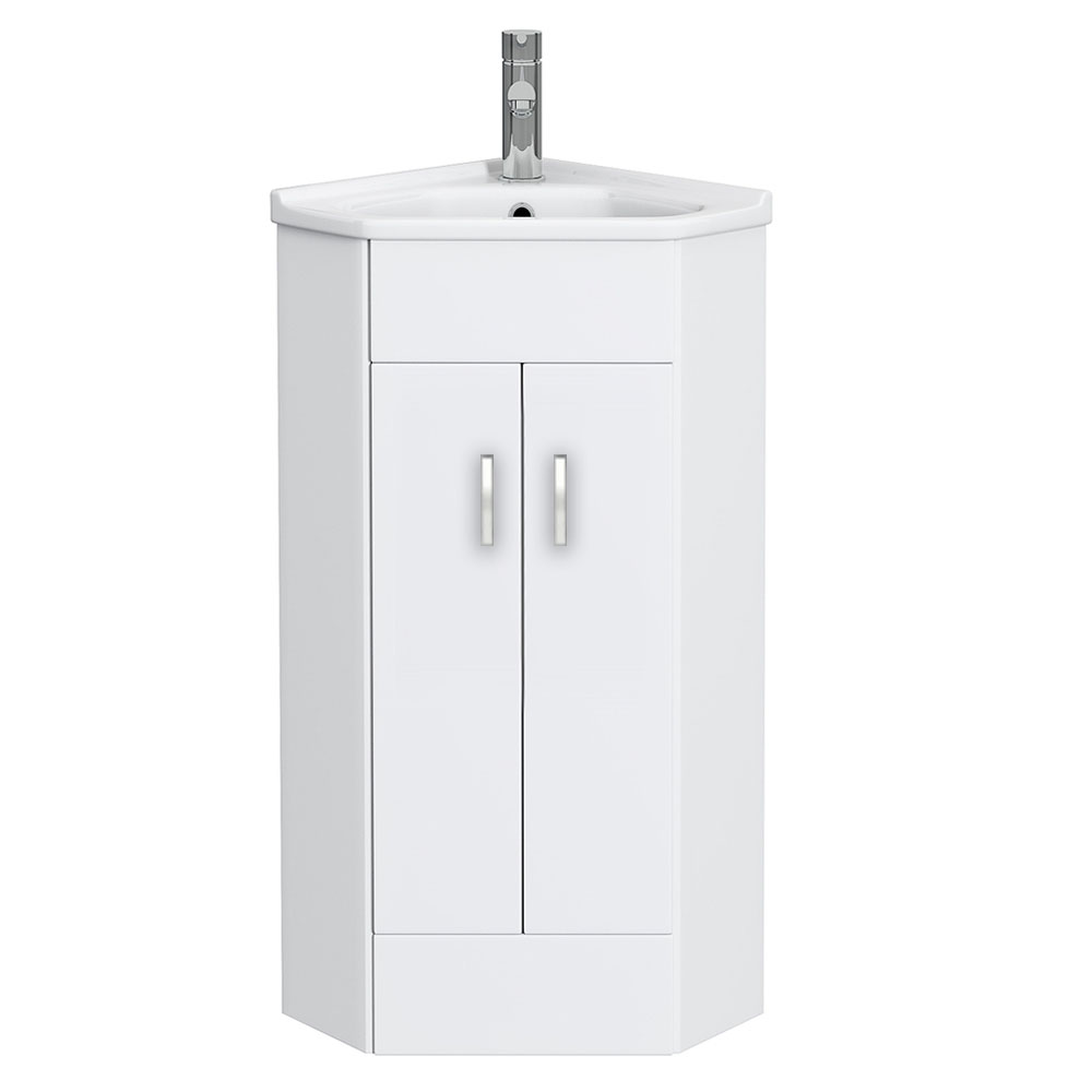 High-Gloss-White-Corner-Cabinet-Vanity-Unit
